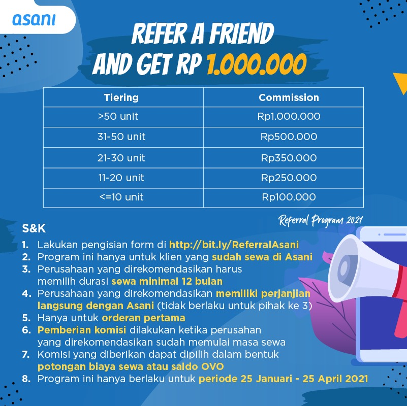 Referral Program Sewa Laptop Asani 2021
